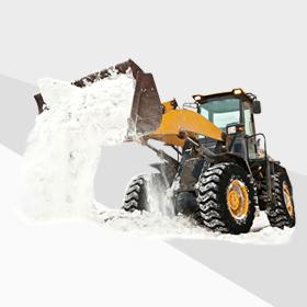 Вывоз снега и уборка территории